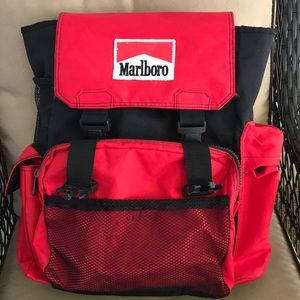 Marlboro Red 90's Vintage Back Pack  Promo item